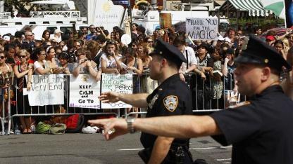 New Yorker Polizei vor Harry Potter Premiere: Ärger vorher aufspüren