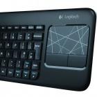 Wireless Touch Keyboard K400: Wohnzimmertastatur von Logitech