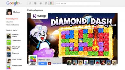 Spiele aus Berlin bei Google+