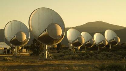 Radioteleskop ATA: Seti lauscht wieder ins Weltall.