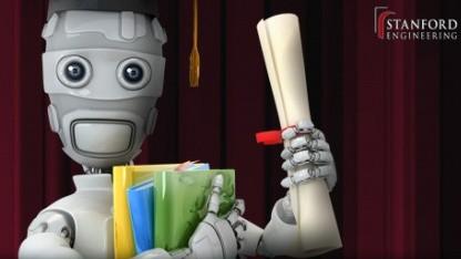 Auch Online-Teilnehmer erhalten Hausarbeiten, Tests und Noten.