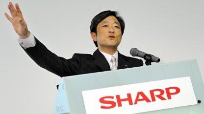 Sharp President Mikio Katayama im Juni 2011 in Tokio