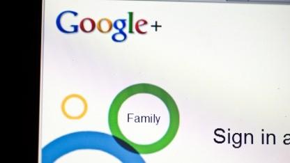 Startseite von Google+