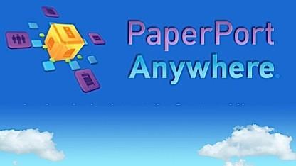 Paperport Anywhere verwaltet Scans in der Cloud.