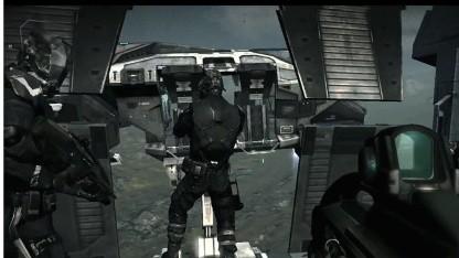 Dust-Spieler helfen Eve-Online-Spielern bei der Invasion von Gebieten.