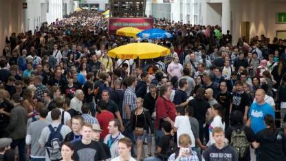 Rund 275.000 Besucher waren auf der Gamescom 2011.