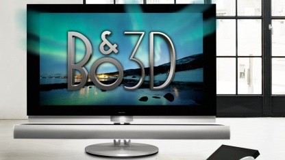 bang olufsen 3d fernseher beovision 7 55 mit lokaler dimmung. Black Bedroom Furniture Sets. Home Design Ideas