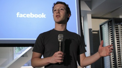 Facebook-Chef Mark Zuckerberg im April 2011