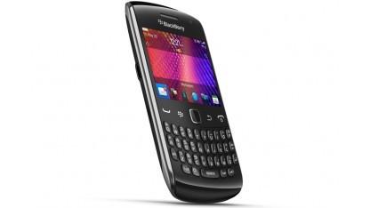 Das Blackberry Curve 9360 ist dünner und leichter.
