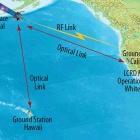 LCRD: Nasa baut Testsystem für optische Datenübertragung ins All