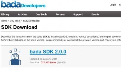 Samsungs Bada SDK 2.0 ist da.