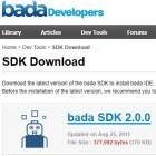 Smartphones: Samsung veröffentlicht Bada SDK 2.0