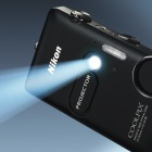 Nikon: Projektor mit iPhone-Anschluss in der Digitalkamera