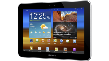 Das Galaxy Tab 8.9 LTE kommt mit Android 3.2.
