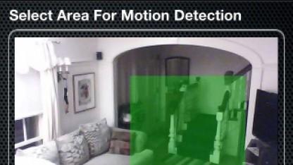 Bewegungserkennung im Bild der Stem Izon