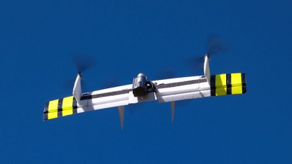 Quedshot: Drohne mit Open-Source-Elementen