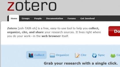 Die Beta 3 von Zotero 3.0 ist fertig.