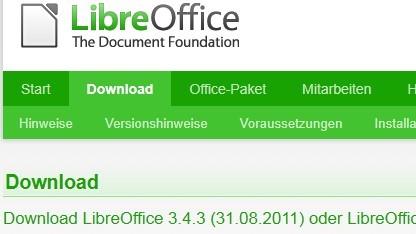 Libreoffice 3.4.3 bringt Fehlerkorrekturen.
