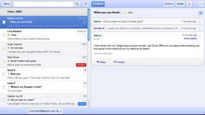 Google Mail Offline