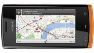 Nokia 500 kommt mit Wechselcovern.