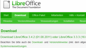 Document Foundation: Libreoffice 3.4.2 ist fertig