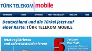 Prepaidtarif Türk Telekom Mobile