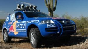 Mit dem autonomen Auto Stanley gewann Thrun die Darpa Grad Challenge.