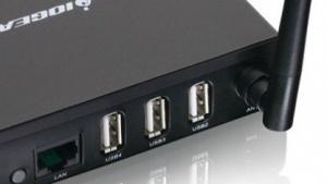 Wireless 4-Port USB Sharing Station