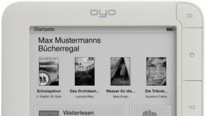 Oyo II mit E-Book-Shop: E-Books auf Android-Geräten lesen