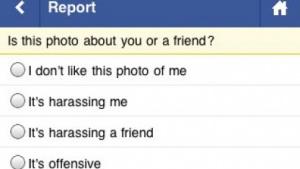 Facebook-Fotos lassen sich nun auch von unterwegs melden.