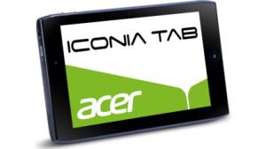 400 Euro kostet das Iconia Tab A100 mit HSDPA-Modem.
