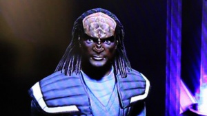 Klingone in Star Trek Infinite Space