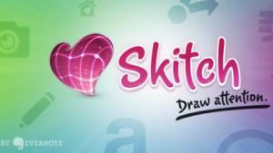 Mit Skitch können Websites und Bildschirmbereiche abfotografiert werden.
