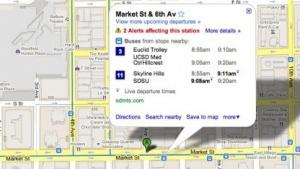 Echtzeitdaten zu Bahnen und Bussen in Google Maps