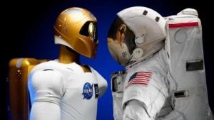 Gemeinsamer Einsatz auf der ISS: Robonaut 2