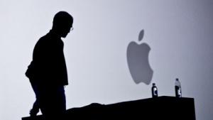 Steve Jobs bei der Vorstellung des iPhone 4 im Jahre 2010