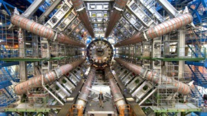 LHC-Experiment Atlas im Bau, LHC - Large Hadron Collider