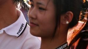 Foxconn-Arbeiterinnen in Shenzhen im Jahr 2010