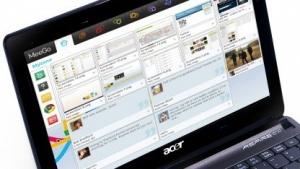 Meego als Betriebssystem auf Acers neuem Netbook