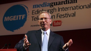 Eric Schmidt am 27. August 2011 in Edinburgh