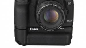 Canon 5D MkII mit WLAN-Funkmodul