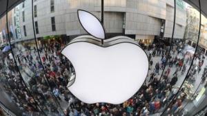 Apple Store in München im März 2011