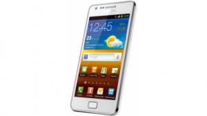 Weißes Galaxy S2 von Samsung