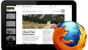 So könnte Firefox auf Android-Tablets aussehen.