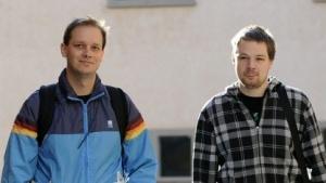 Bayfiles statt Pirate Bay: Fredrik Neij (r.) und Peter Sunde (l.) im Jahr 2010