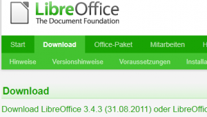 The Document Foundation: Libreoffice 3.4.3 ist da