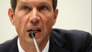 René Obermann während einer Anhörung zu AT&T und T-Mobile im Mai 2011