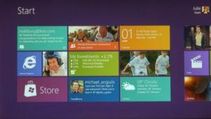 Das neue Metro-Interface spielt die zentrale Rolle in Windows 8.