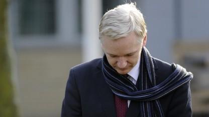 Julian Assange im Februar 2011