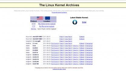 Die Webseite Kernel.org wurde angegriffen.